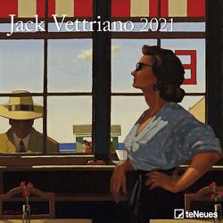 Jack Vettriano 2021 – Wand-Kalender – Broschüren-Kalender – 30×30 – 30×60 geöffnet – Kunst-Kalender von Vettriano,  Jack