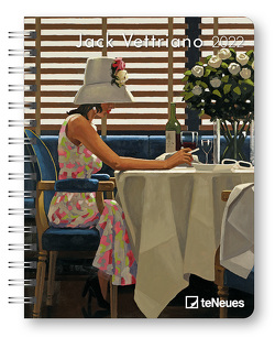 Jack Vettriano 2022 – Diary – Buchkalender – Taschenkalender – Kunstkalender – 16,5×21,6 von Vettriano,  Jack