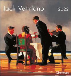 Jack Vettriano 2022 – Kunst-Kalender – Wand-Kalender – 45×48 von Vettriano,  Jack