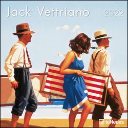 Jack Vettriano 2022 – Wand-Kalender – Broschüren-Kalender – 30×30 – 30×60 geöffnet – Kunst-Kalender von Vettriano,  Jack