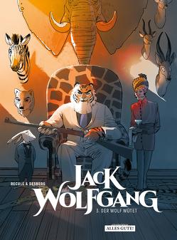 Jack Wolfgang von Desberg,  Stephen, Reculé,  Henri