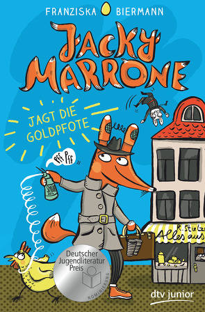 Jacky Marrone jagt die Goldpfote von Biermann,  Franziska
