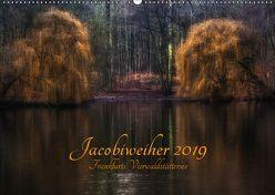 Jacobiweiher – Frankfurts Vierwaldstättersee (Wandkalender 2019 DIN A2 quer) von Wally
