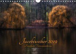 Jacobiweiher – Frankfurts Vierwaldstättersee (Wandkalender 2019 DIN A4 quer) von Wally