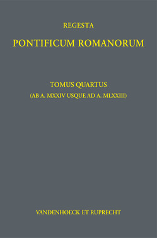 Jaffé. Regesta Pontificum Romanorum. / Regesta Pontificum Romanorum von Herbers,  Klaus, Jaffé,  Philipp