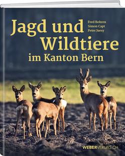 Jagd und Wildtiere im Kanton Bern von Bohren,  Fred, Capt,  Simon, Gansner,  Kurt, Jüsy,  Peter