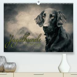 Jagdhunde im Portrait (Premium, hochwertiger DIN A2 Wandkalender 2020, Kunstdruck in Hochglanz) von Hollstein,  Alexandra
