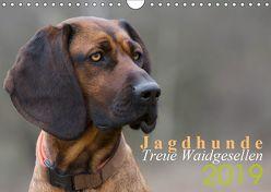 Jagdhunde – Treue Waidgesellen (Wandkalender 2019 DIN A4 quer) von Gerlach,  Nadine