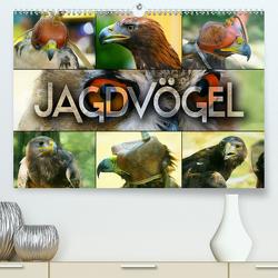 Jagdvögel (Premium, hochwertiger DIN A2 Wandkalender 2020, Kunstdruck in Hochglanz) von Bleicher,  Renate