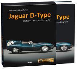 Jaguar D-Type von Parker,  Chas, Porter,  Philip