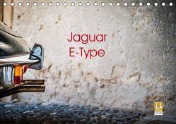 Jaguar E-Type 2019 (Tischkalender 2019 DIN A5 quer)