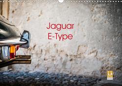 Jaguar E-Type 2021 (Wandkalender 2021 DIN A3 quer) von Sagnak,  Petra