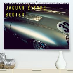 Jaguar E-Type – Bodies (Premium, hochwertiger DIN A2 Wandkalender 2021, Kunstdruck in Hochglanz) von Hinrichs,  Johann