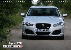 Jaguar XFR (Wandkalender 2018 DIN A4 quer) von Wolff,  Juergen