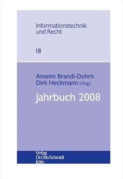 Jahrbuch 2008 von Brandi-Dohrn,  Anselm, Heckmann,  Dirk