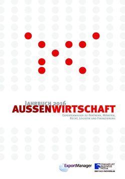 Jahrbuch Außenwirtschaft 2016