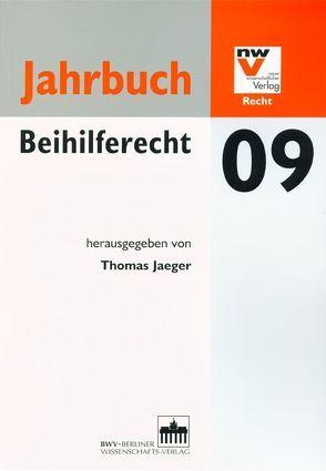 Jahrbuch Beihilferecht 09 von Jaeger,  Thomas