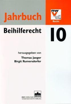 Jahrbuch Beihilferecht 10 von Jaeger,  Thomas, Rumersdorfer,  Birgit