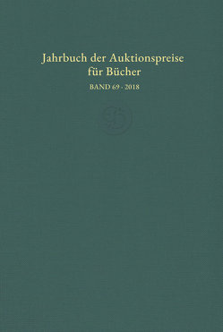 Jahrbuch der Auktionspreise für Bücher, Handschriften und Autographen