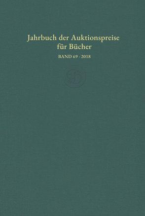 Jahrbuch der Auktionspreise für Bücher, Handschriften und Autographen (Buch + DVD)