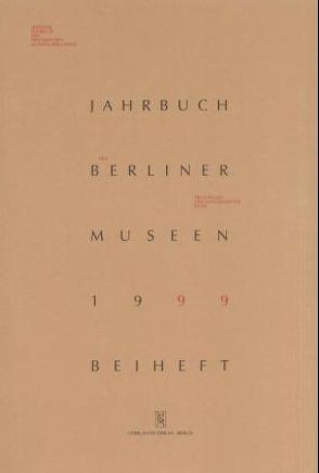 Jahrbuch der Berliner Museen. Jahrbuch der Preussischen Kunstsammlungen. Neue Folge / (1999) / Adolph Menzel im Labyrinth der Wahrnehmung von Gaehtgens,  Thomas W, Keisch,  Claude, Schuster,  Peter K