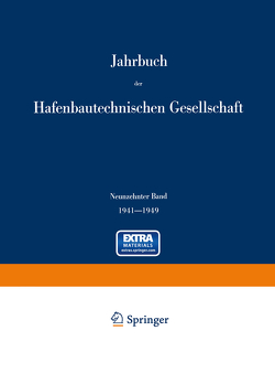 Jahrbuch der Hafenbautechnischen Gesellschaft von Becker,  W., Schwab,  R.