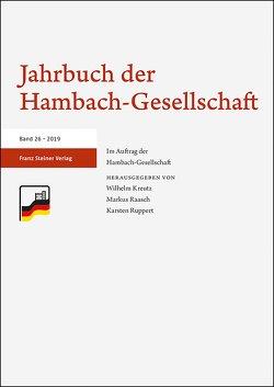 Jahrbuch der Hambach-Gesellschaft 26 (2019) von Kreutz,  Wilhelm, Raasch,  Markus, Ruppert,  Karsten