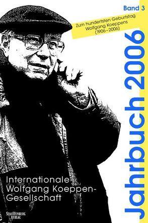 Jahrbuch der Internationalen Wolfgang-Koeppen-Gesellschaft / Jahrbuch der Internationalen Wolfgang-Koeppen-Gesellschaft von Klein,  Jürgen
