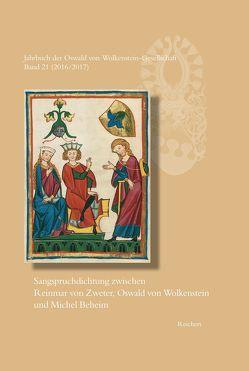 Jahrbuch der Oswald von Wolkenstein-Gesellschaft von Brunner,  Horst, Franzke,  Janina, Löser,  Freimut