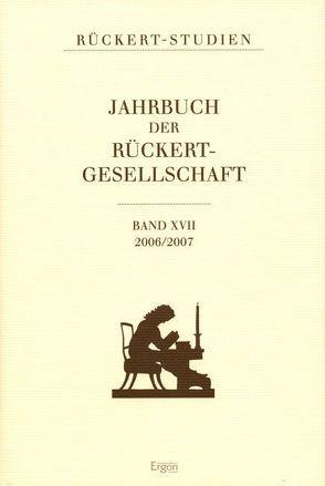 Jahrbuch der Rückert Gesellschaft von Bobzin,  Hartmut, Czapla,  Ralf Georg, Mix,  York-Gothart, Pittrof,  Thomas