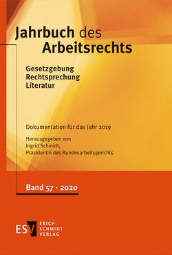 Jahrbuch des Arbeitsrechts von Schmidt,  Ingrid