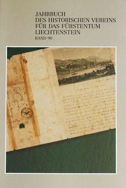 Jahrbuch des Historischen Vereins für das Fürstentum Liechtenstein von Geiger,  Peter, Holenstein,  André, Martin,  Graham, Quaderer,  Rupert, Rheinberger,  Rudolf, Sörries,  Reiner