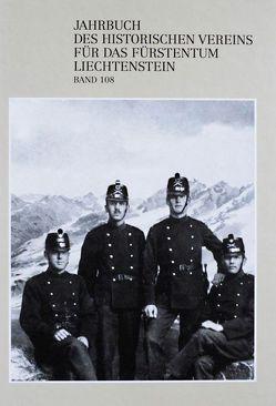Jahrbuch des Historischen Vereins für das Fürstentum Liechtenstein von Biedermann,  Klaus, Bundi,  Martin, Quaderer,  Rupert, Stucky,  Claudio, Wanner,  Gerhard