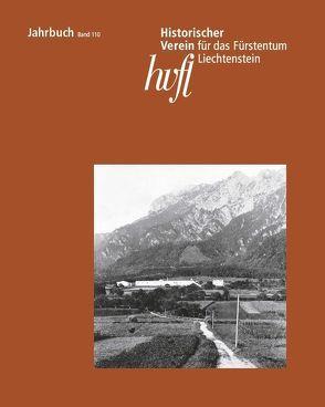 Jahrbuch des Historischen Vereins für das Fürstentum Liechtenstein von Frick,  Nadja, Good,  Jeannette, Vogt,  Wolfgang, Zupanic,  Jan