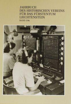 Jahrbuch des Historischen Vereins für das Fürstentum Liechtenstein von Burmeister,  Karl Heinz, Frick,  Julia, Hasler,  Norbert W, Kamber,  Peter, Klausmann,  Hubert, Küng,  Heribert