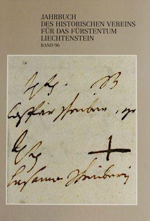 Jahrbuch des Historischen Vereins für das Fürstentum Liechtenstein von Frommelt,  Hansjörg, Hasler,  Norbert W, Kühn,  Marlu, Putzer,  Peter, Tschaikner,  Manfred, Zwiefelhofer,  Thomas
