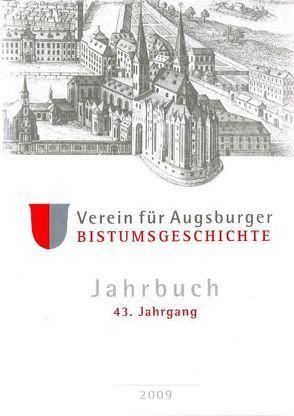 Jahrbuch des Vereins für Augsburger Bistumsgeschichte von Weitlauff,  Manfred