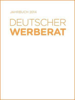 Jahrbuch Deutscher Werberat 2014