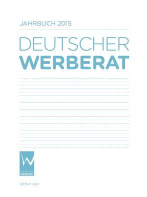 Jahrbuch Deutscher Werberat 2015