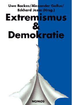 Jahrbuch Extremismus & Demokratie (E & D) von Backes,  Uwe, Gallus,  Alexander, Jesse,  Eckhard
