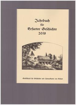 Jahrbuch für Erfurter Geschichte. Band 13 (2018) von Benl,  Rudolf