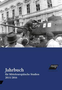 Jahrbuch für mitteleuropäische Studien 2015/16 von Mitteleuropazentrum Andrássy Universität Budapest