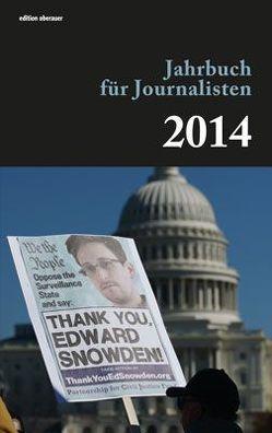 Jahrbuch für Journalisten 2014 von Oberauer,  Johann