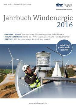 Jahrbuch Windenergie 2016 von Marcus ,  Franken, Thüring ,  Hildegard