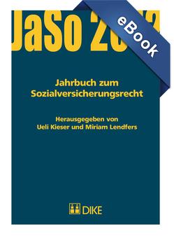 Jahrbuch zum Sozialversicherungsrecht 2012 von Kieser,  Ueil, Lendfers,  Miriam