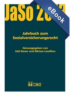 Jahrbuch zum Sozialversicherungsrecht von Kieser,  Ueil, Lendfers,  Miriam