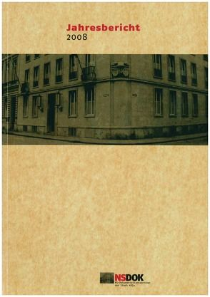 Jahresbericht / Jahresbericht 2008 von Jung,  Werner