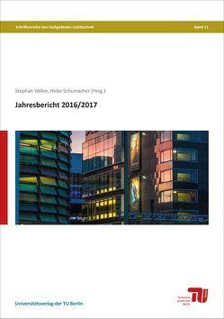 Jahresbericht 2016/2017 von Schumacher,  Heike, Völker,  Stephan