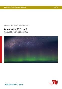 Jahresbericht 2017/2018 von Schumacher,  Heike, Völker,  Stephan
