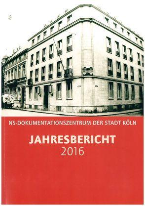 Jahresbericht / Jahresbericht 2016 von Jung,  Werner